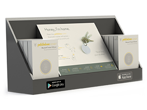 Pebble Bee Concept Packaging for in store Target display